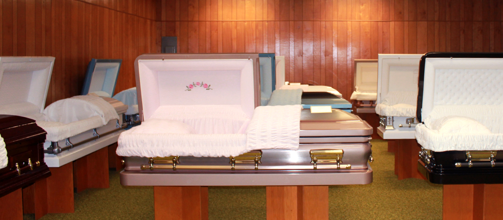 Showroom Caskets